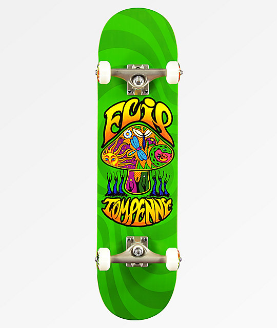 Flip x Tom Penny Love Shroom Green 8.0