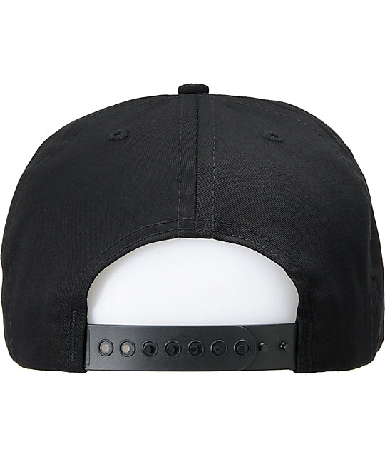 Fly Society Skywriter Black Snapback Hat