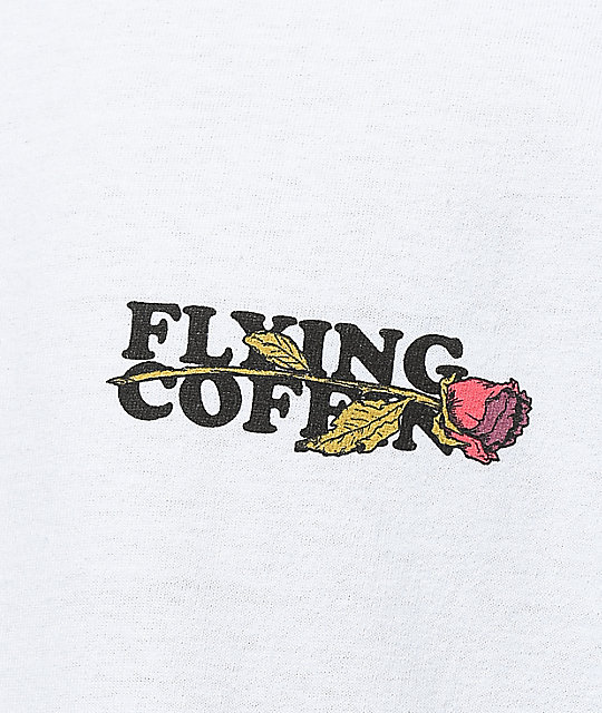 Flying Coffin Be Loyal White T-Shirt