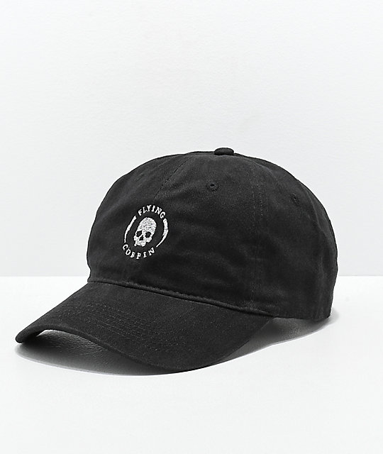 Flying Coffin Shock Logo gorra negra