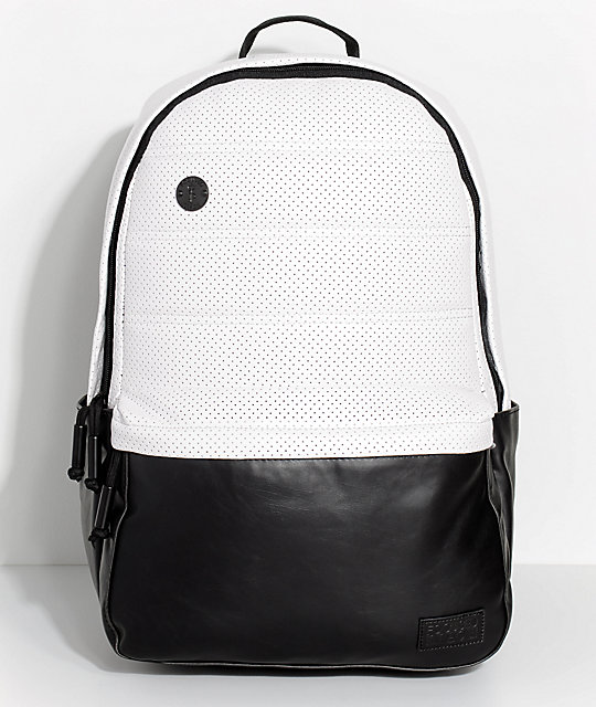 Focused Space The Technique White & Black Backpack