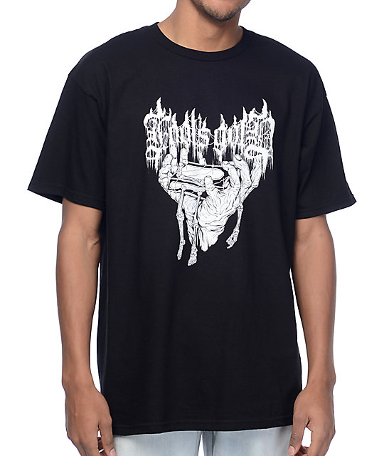 Fool's Gold Death Metal Black T-Shirt