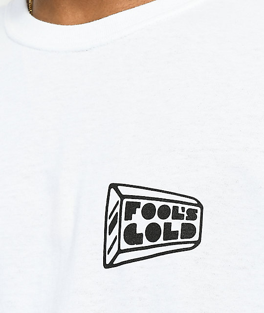 Fool's Gold Listening Station White T-Shirt