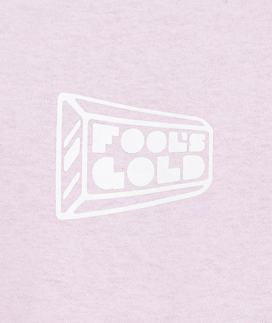 Fool's Gold Small Logo Pink T-Shirt