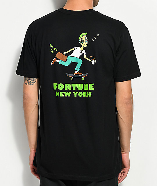Fortune Daily Grind Black T-Shirt