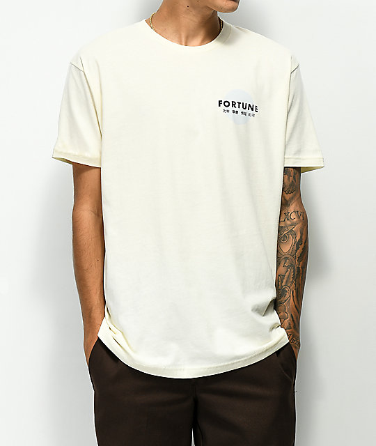 Fortune Elephant Off White T-Shirt