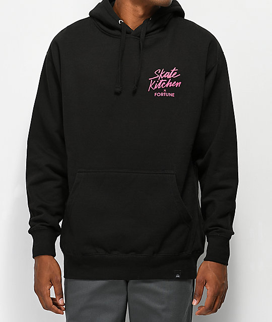 Fortune x The Skate Kitchen Black Hoodie