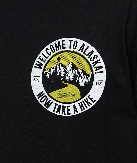 Forty Ninth Supply Co Take A Hike camiseta