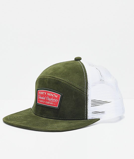 Forty Ninth Supply Co. Lakewood Green Snapback Hat