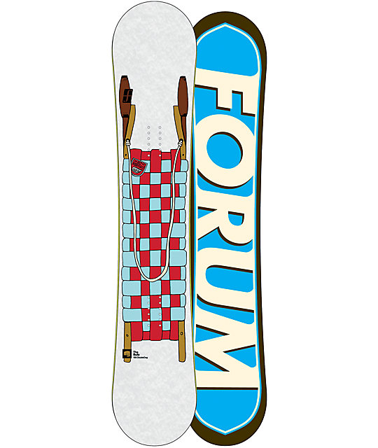 Forum Bully DoubleDog 158cm Mens Snowboard