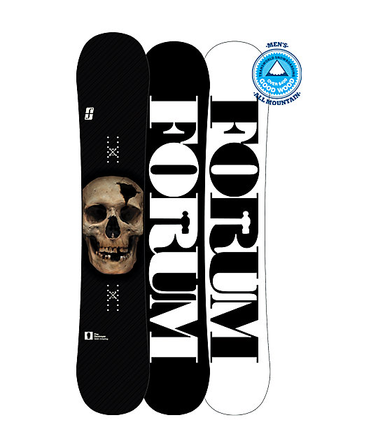 Forum Destroyer ChillyDog 156cm Wide Snowboard