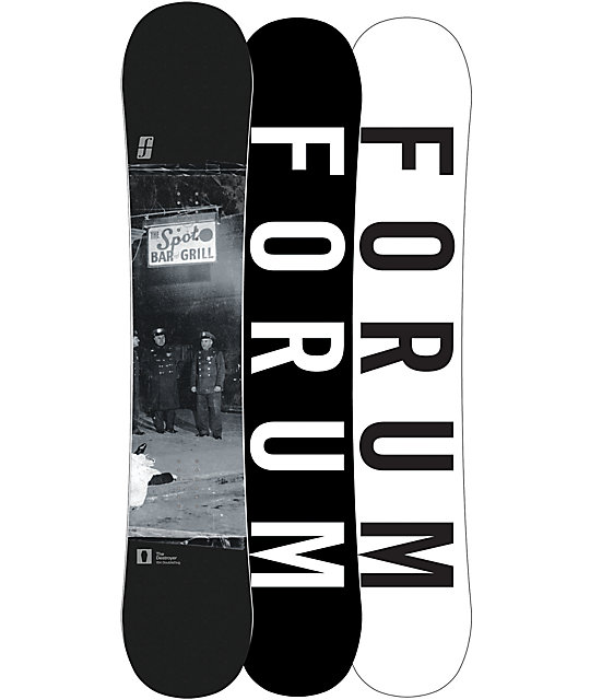 Forum Destroyer Double Dog 154cm Snowboard