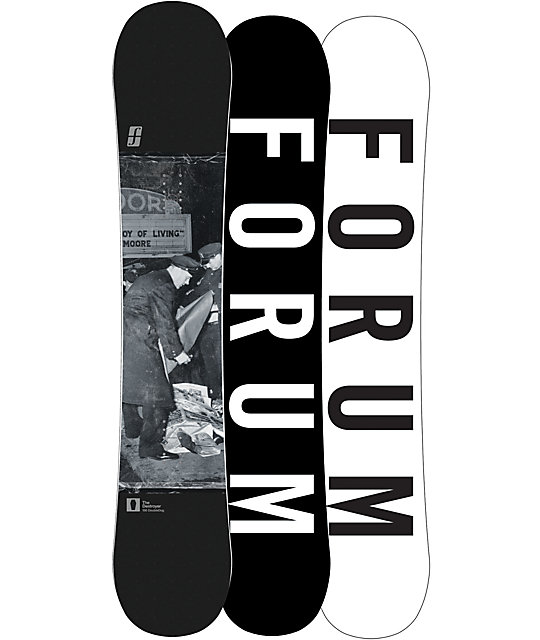 Forum Destroyer Double Dog 156cm Snowboard