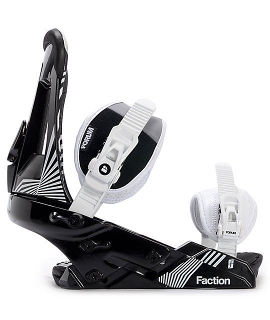 Forum The Faction Black Snowboard Bindings