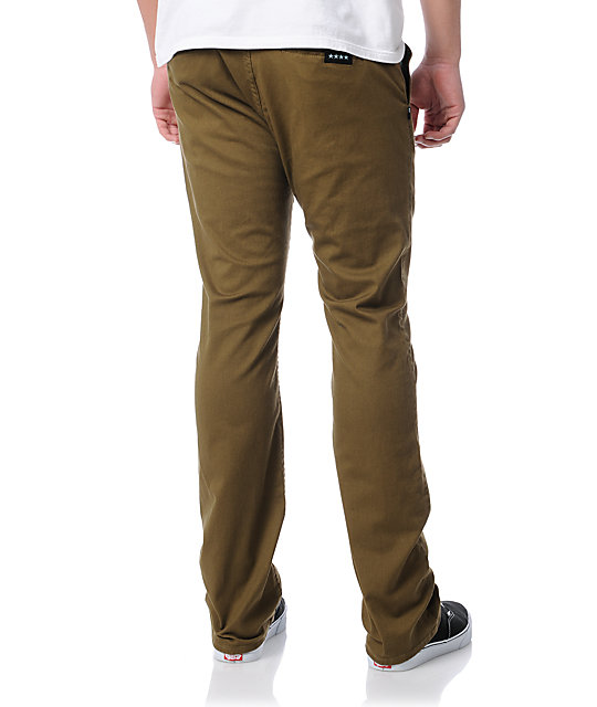 Fourstar Carroll Slim Fit Brown Pants