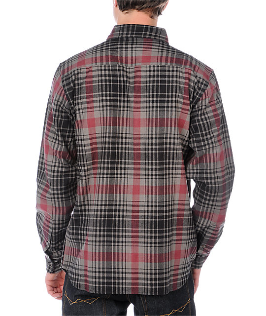 Fourstar Clothing Stranger Pewter Flannel Shirt