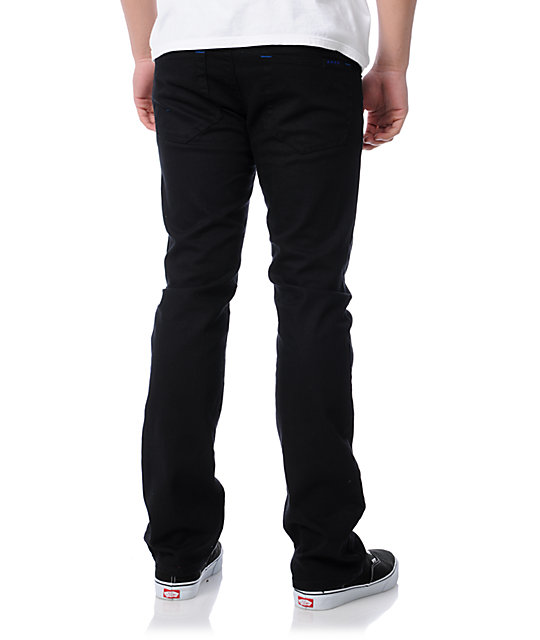 Fourstar Malto Black Slim Jeans
