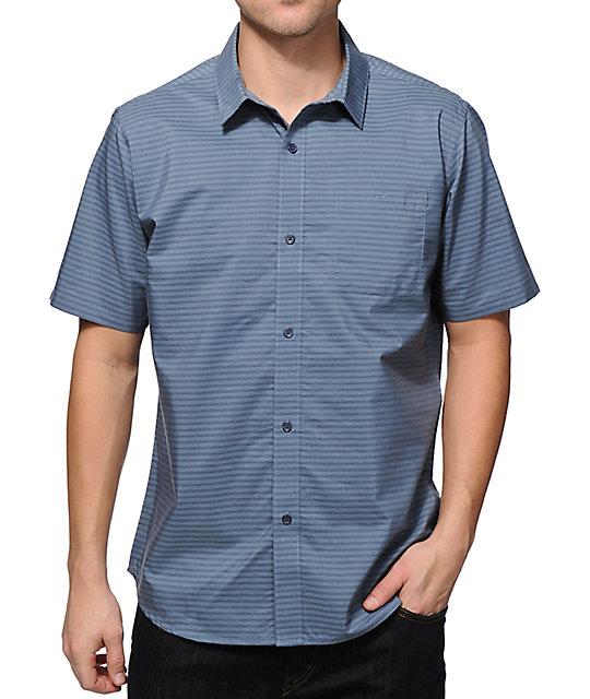 49942f518a Fourstar Pencil Stripe Button Up Shirt | Zumiez