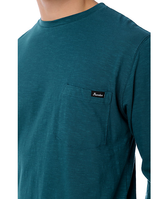 Fourstar Raymond Teal Knit