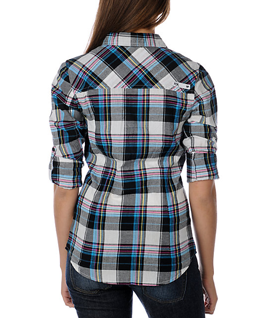 Fox Axel Plaid Woven Shirt
