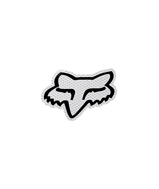 Fox Big Fox Head Sticker