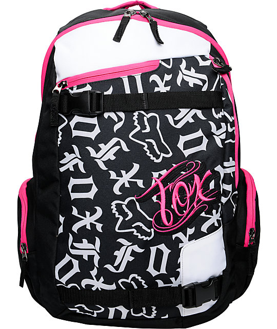 Fox Born Free Back & Pink Laptop Backpack