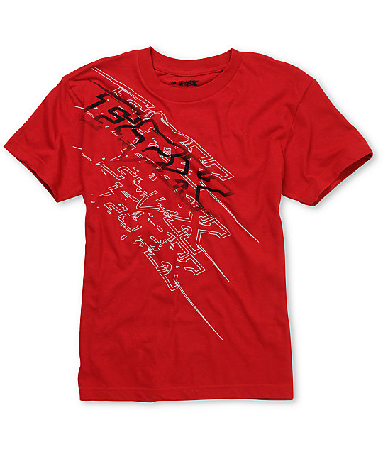 Fox Boys Fastbreak Red T-Shirt