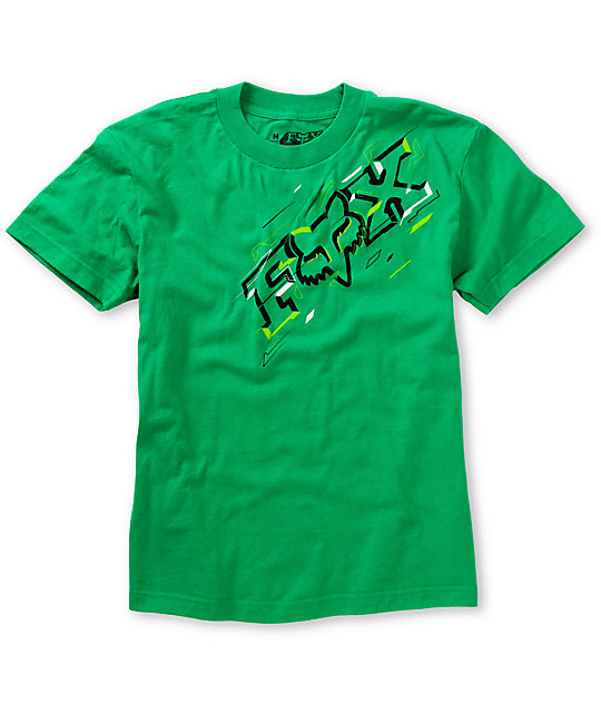 Fox Boys Guideline Green T-Shirt