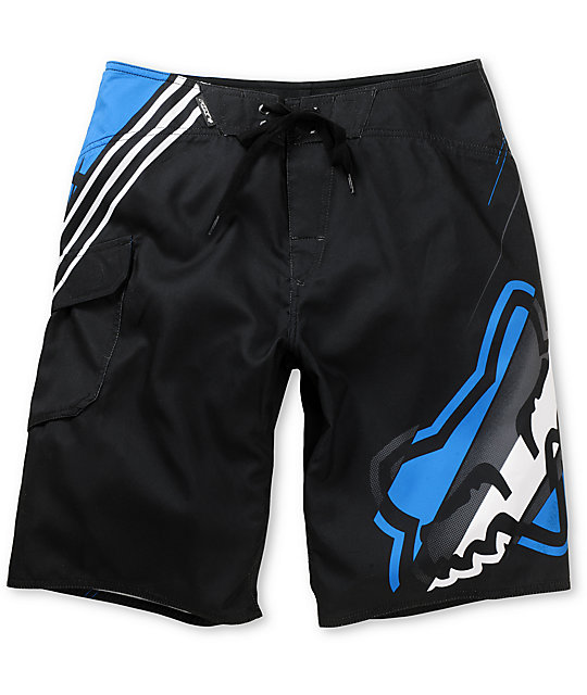 Fox Boys Hashed Black Board Shorts