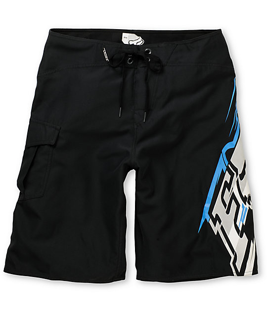 Fox Circuit Black Board Shorts