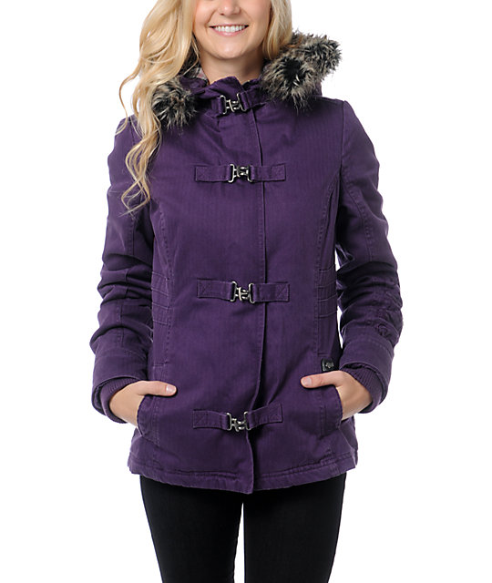 Fox Detention Plum Perfect Jacket