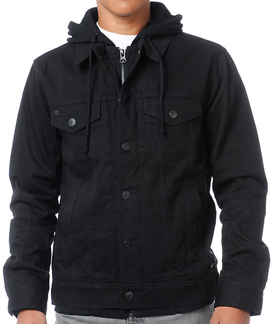Fox Dunkirk Black Jean Jacket