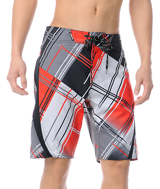 Fox Fade Out Red 20 Board Shorts