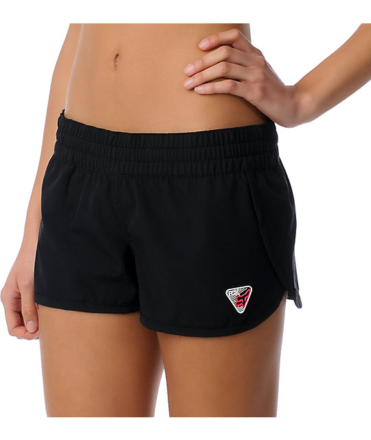 Fox Forever Black Board Shorts