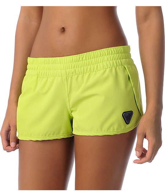 Fox Forever Lime Green Board Shorts