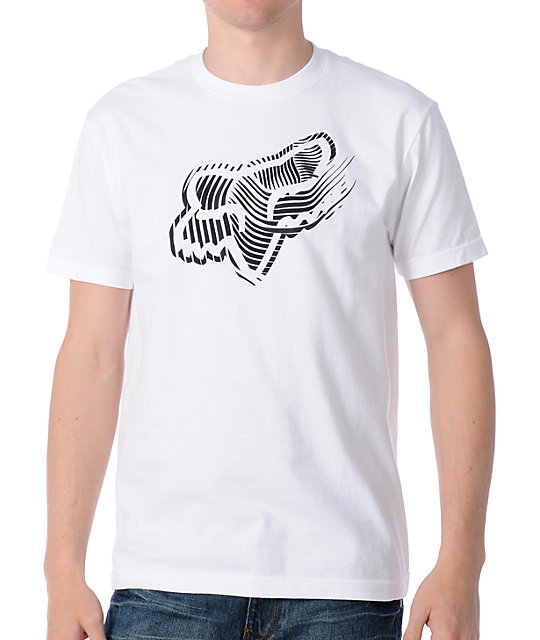 Fox Grey Matter White T-Shirt
