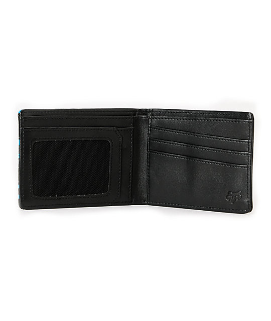 Fox Hacker Black Bifold Wallet