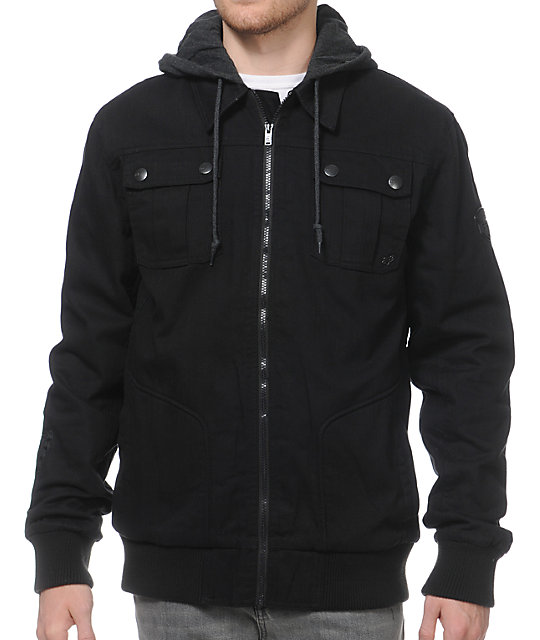 Fox Hostage Black Jacket