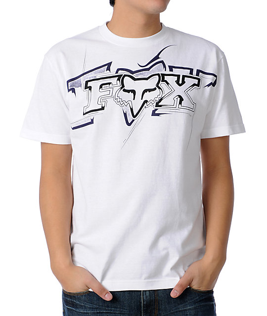 Fox Its Basic Mens White T-Shirt