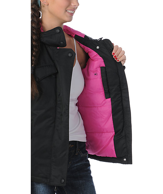 Fox Reflex Black & Pink Jacket