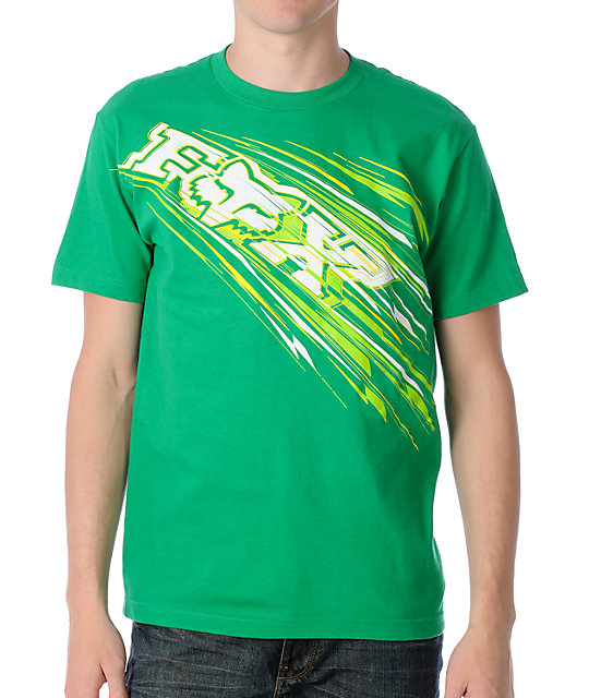 Fox Showdown Green T-Shirt