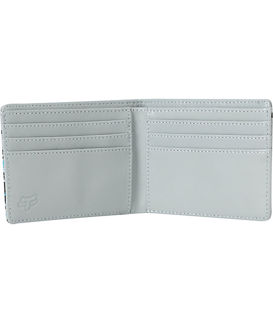 Fox Showdown Grey Bifold Wallet