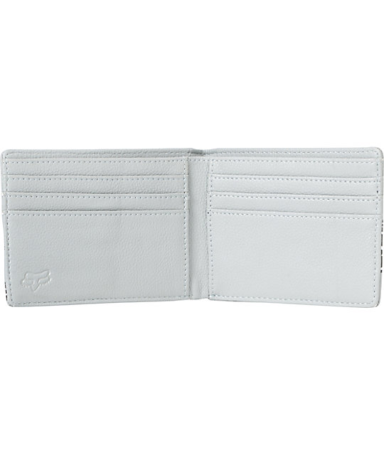 Fox Slapstick Grey Bifold Wallet