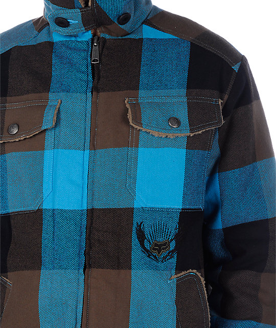 Fox Spaceland Blue Jacket