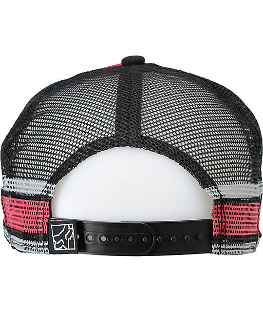 Fox Terrain Pink & Black Trucker Hat