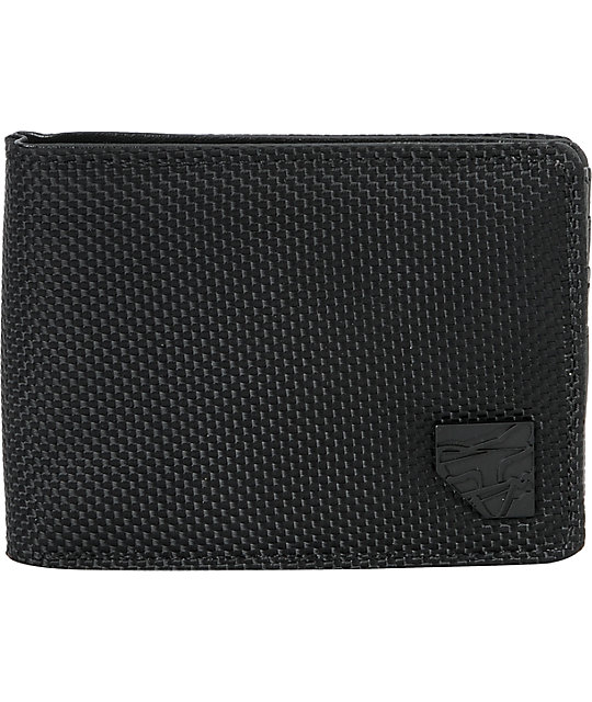 Fox The Mooch Black Bifold Wallet