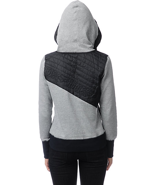 Fox Trials Heather Graphite Pullover Hoodie