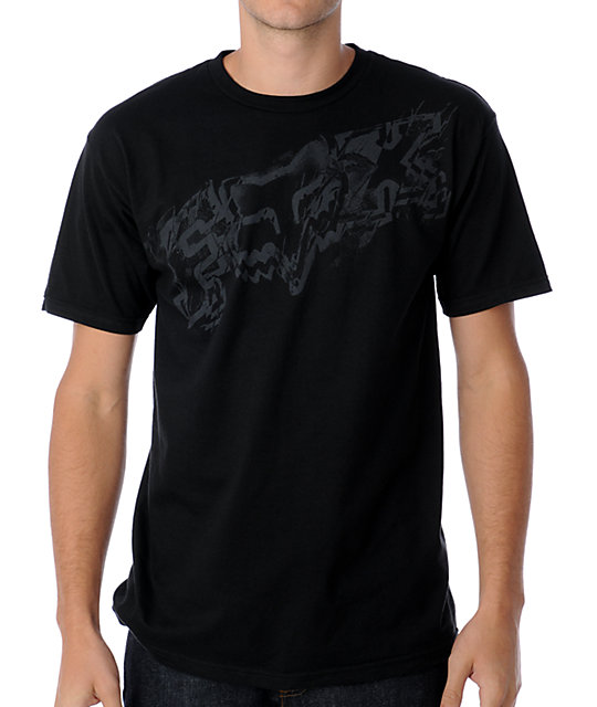 Fox Verse Black T-Shirt