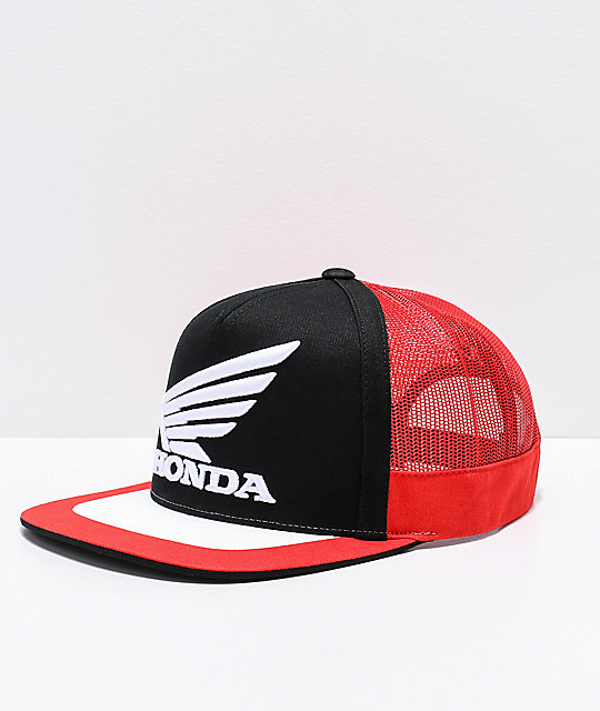 Fox x Honda gorra de camionero negra 94632021a26