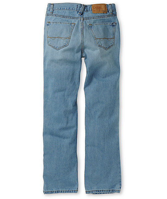 Free World Boys Messenger Light Blue Skinny Jeans